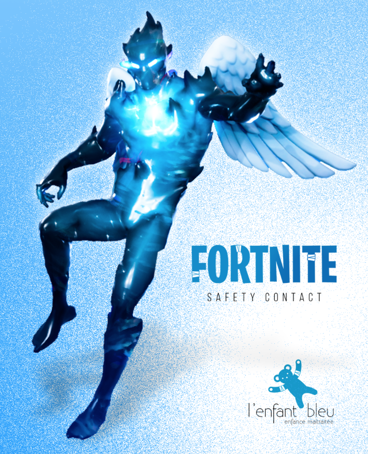 enfant bleu x fortnite le magazine article