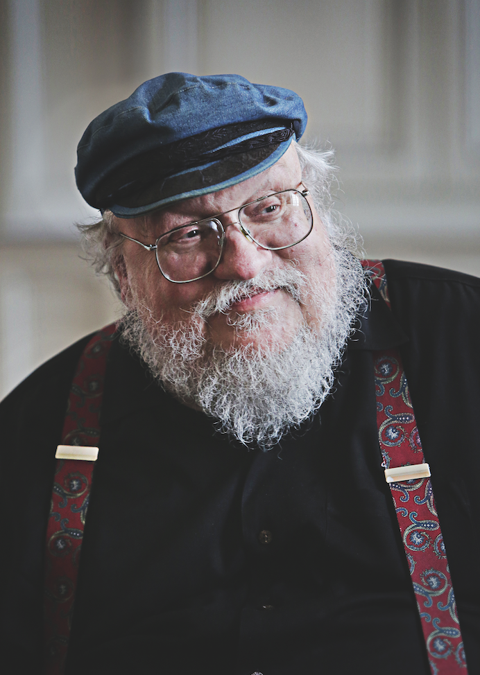 George rr martin le magazine article