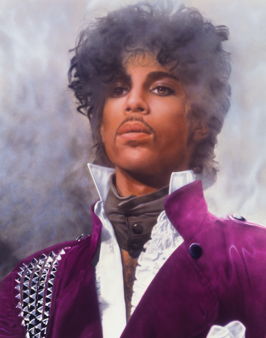 prince le magazine article Purple rain