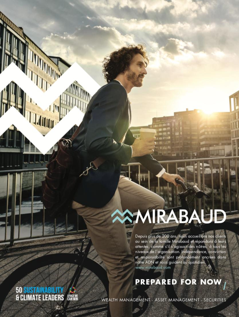Mirabaud pub le magazine