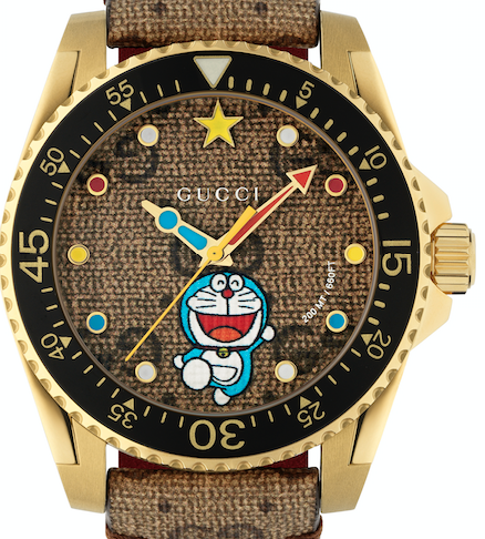 gucci Doraemon slider le magazine
