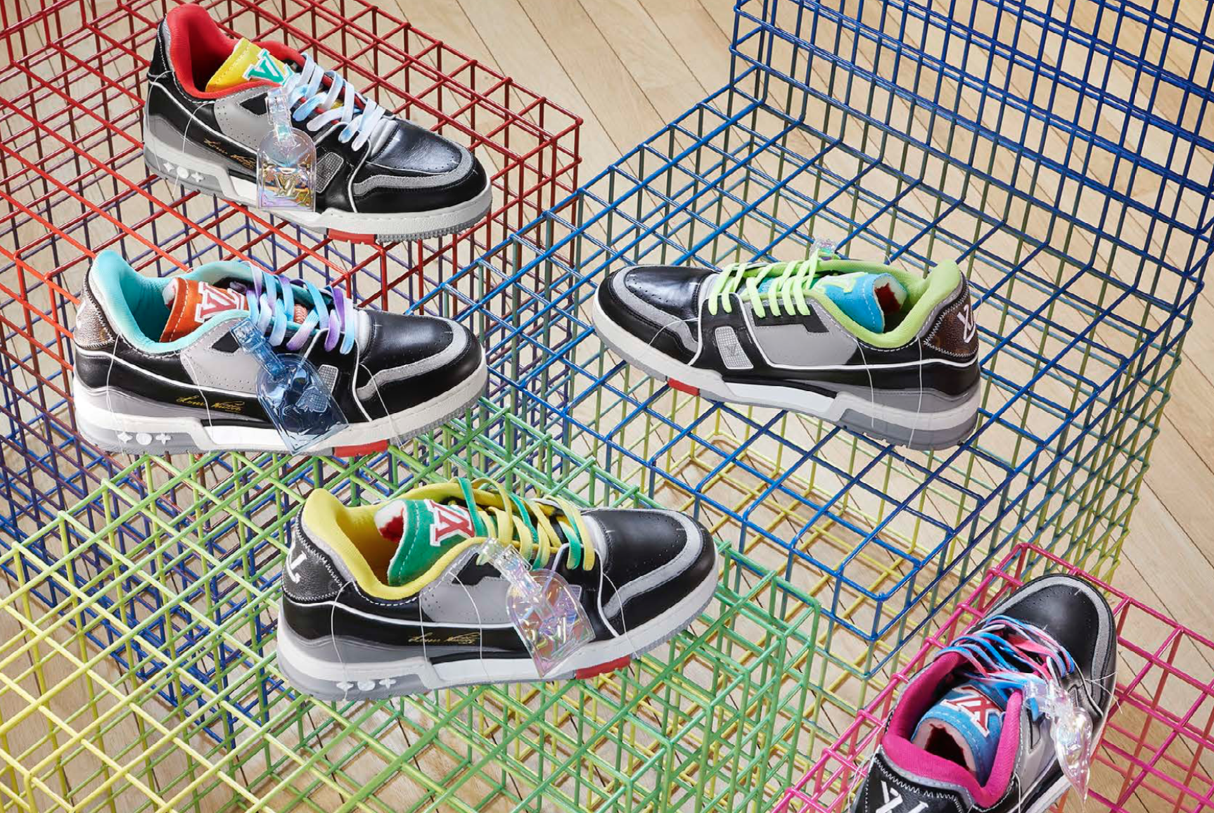 sneakers lv article le magazine